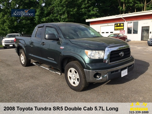 2008 Toyota Tundra SR5 Double Cab 5.7L Long Bed